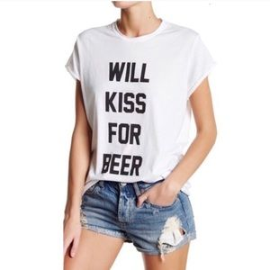 The Laundry Room Will Kiss For Beer Tee